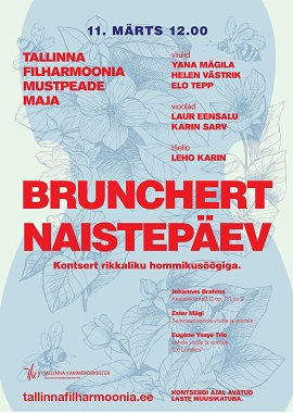 BRUNCHERT. Women's Day