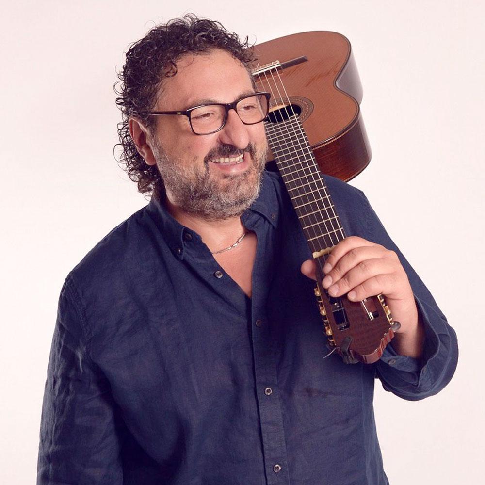 Tallinna XIV kitarrifestival. Aniello Desiderio (Itaalia) / Eurostrings Stars Guitar Orchestra