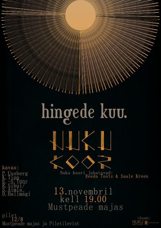 NUKU koori sügiskontsert ''HINGEDE KUU''