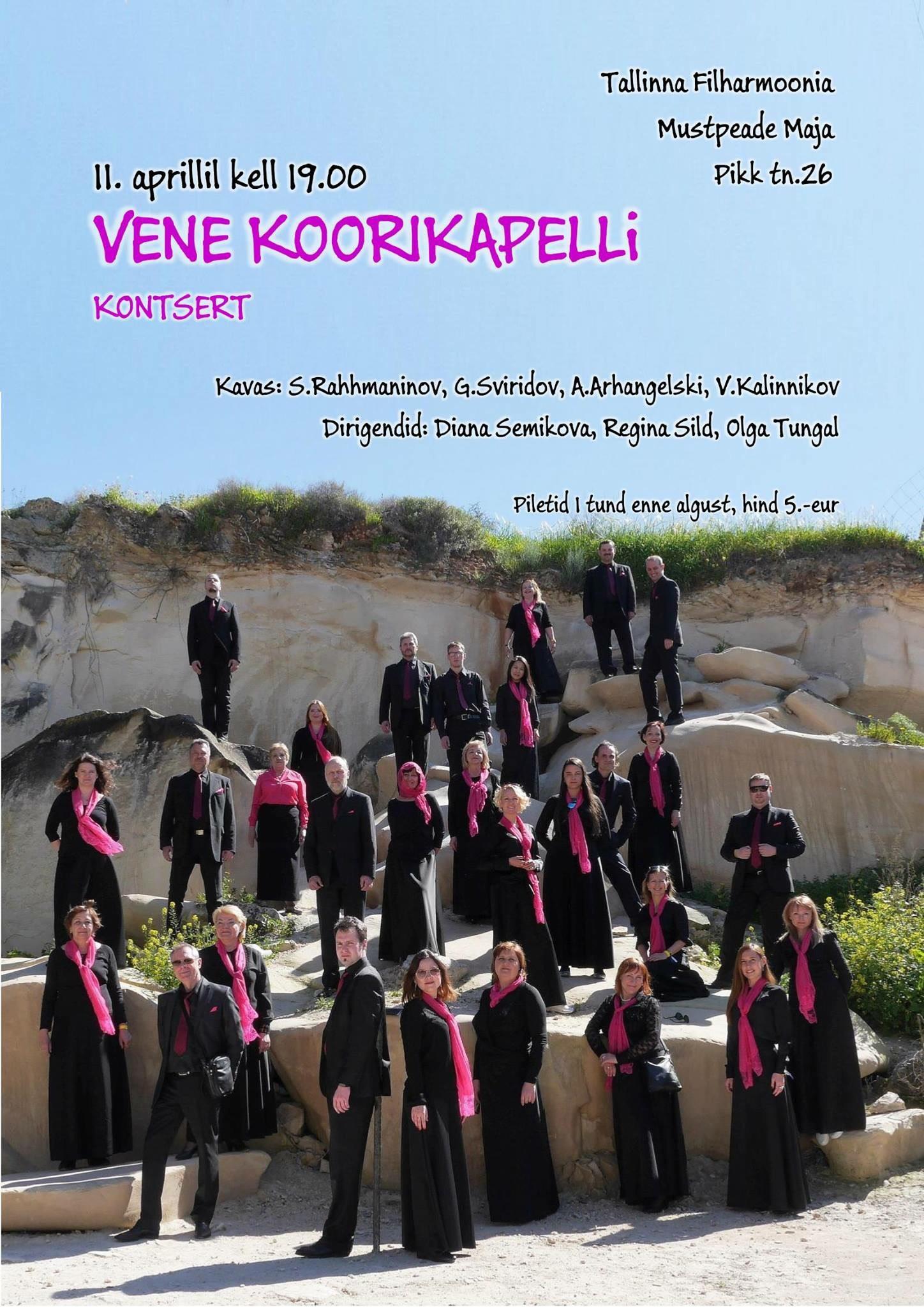 Vene Koorikapelli kontsert