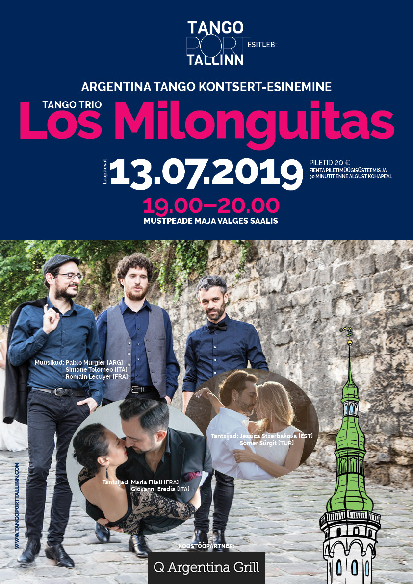 Argentina tango trio Los Milonguitas