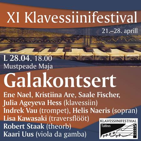 XI Tallinna Klavessiinifestivali GALAKONTSERT