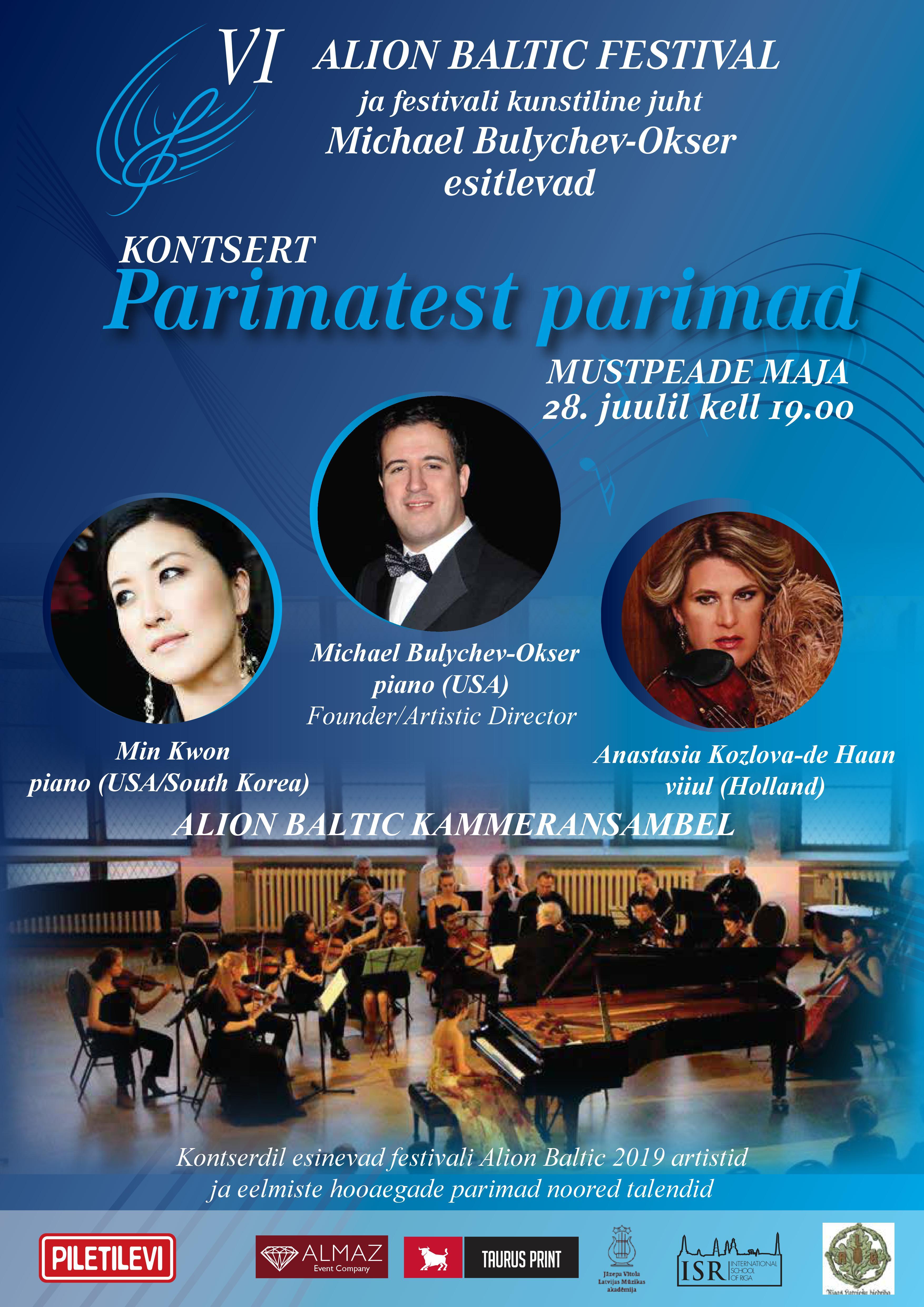 Alion Baltic Festivali Ooperigala Kontsert 2019