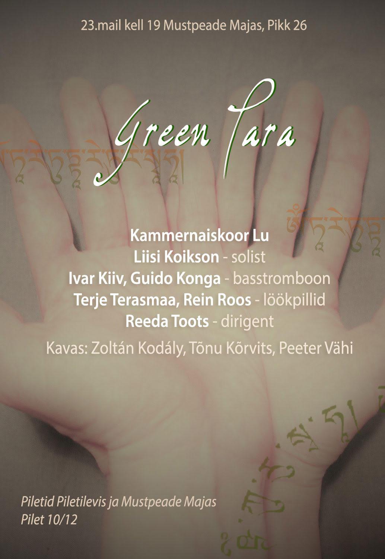 Kammernaiskoor Lu kevadkontsert GREEN TARA