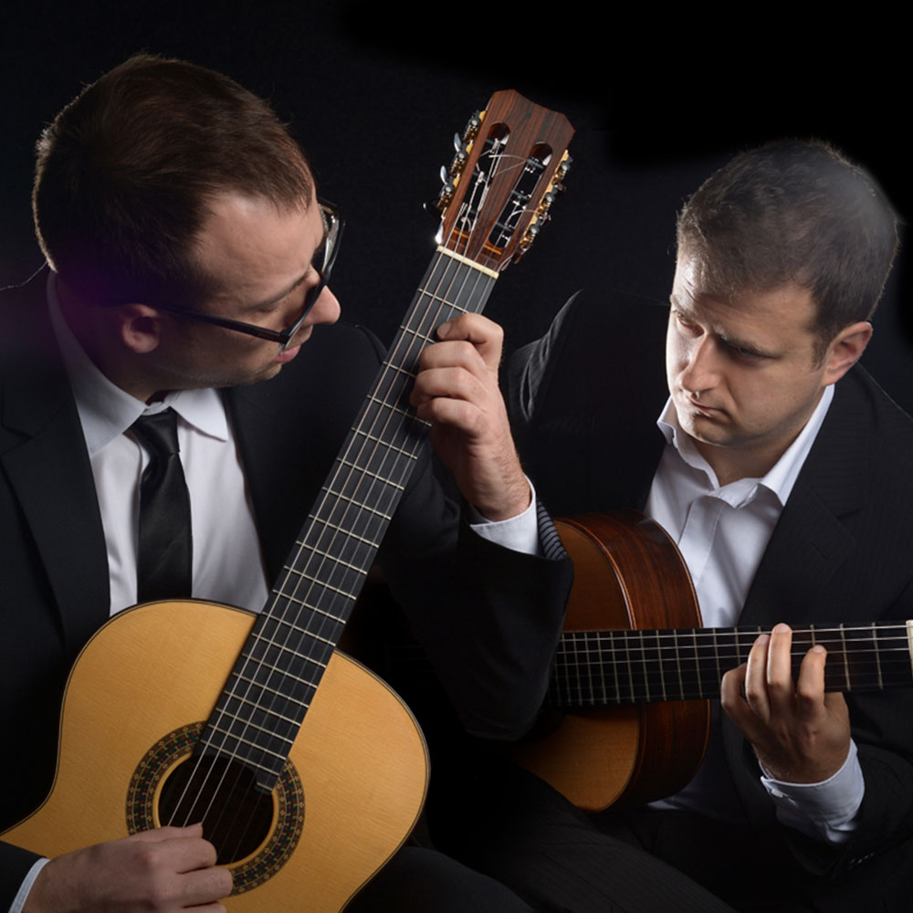 Tallinna XIV kitarrifestival. Kuulsaid kitarriduosid: Montenegrin Guitar Duo Goran Crivocapic, Daniel Cerovic