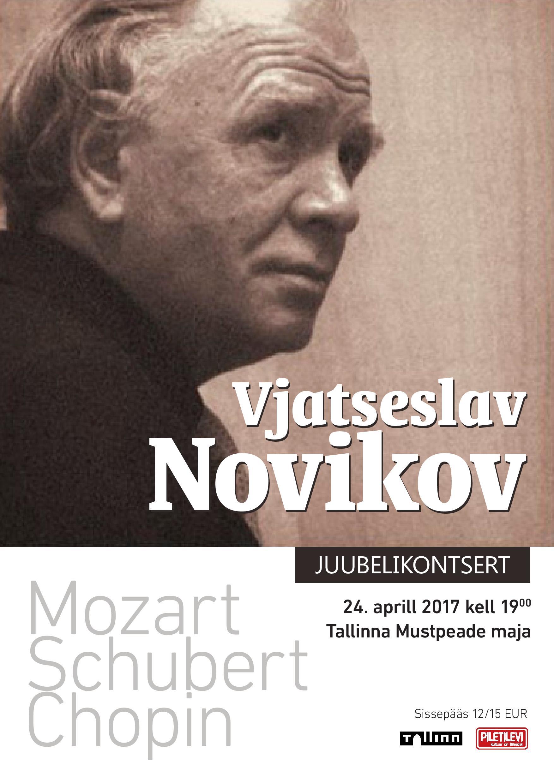 Vjatšeslav Novikovi juubelikontsert